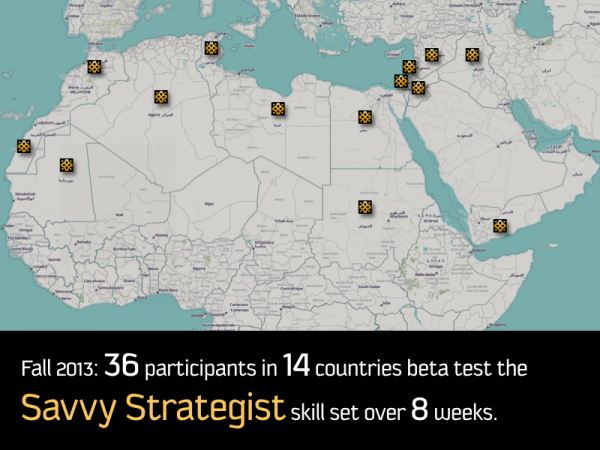 A map shows the home countries of the 36 participants in the beta test.