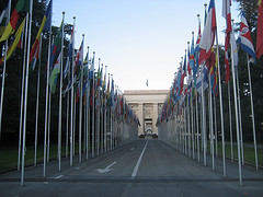 United Nations in Geneva. By cometstarmoon. CC BY 2.0. https://flic.kr/p/79dY7D