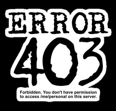 Blocked website