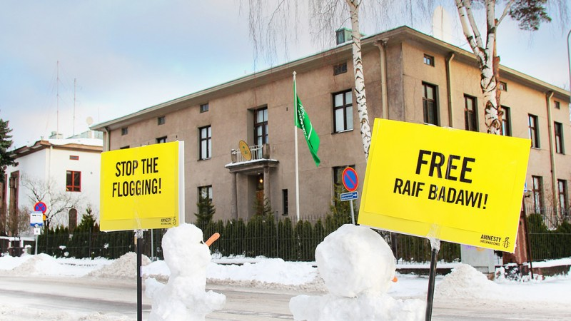 Photo by Amnesty Finland, CC BY 2.0