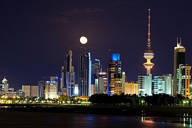 Image of Kuwait City skyline by https://www.flickr.com/photos/cajie/2069133350