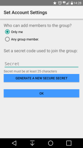 The superuser can decide how much control they want to give group members.