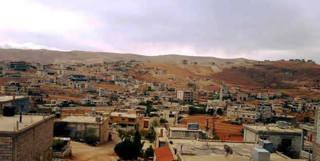 A view of the northeastern town of Arsal near the Syrian border, October 2016. (Nabil Hassan)