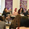 Arab feminists discuss how to counter online violence. November 24, 2017, Beirut, Lebanon. (Oxfam/The Media Booth)